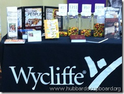 wycliffe table